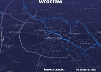 Cena metra kwadratowego - Wrocław - czerwiec 2021